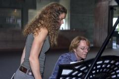 Madelaine Wybom, mit Beat Heimgartner am Flügel